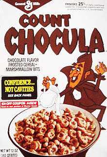 1980s Count Chocula Pouring Milk